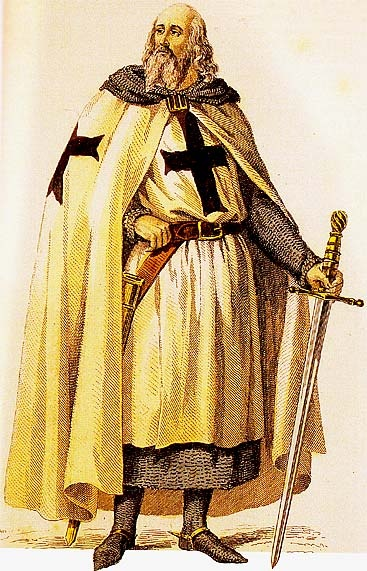 Jacques de Molay (c. 1240/1250 – March 1314) was the 23rd and last Grand Master of the Knights Templar, leading the Order from 20 April 1292 until it was dissolved by order of Pope Clement V in 1307. Though little is known of his actual life and deeds except for his last years as Grand Master, he is the best known Templar, along with the Order's founder and first Grand Master, Hugues de Payens (1070–1136).