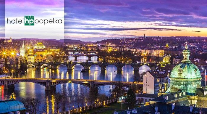 Urobte si 3-dňový výlet do Prahy a ubytujte sa v útulnom Hoteli Popelka**** s raňajkami a vstupom do aquaparku!