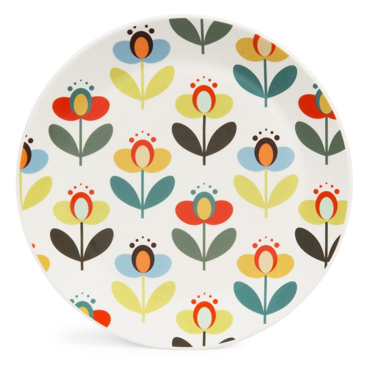 LUCETTE earthenware dinner plate, D 25cm   - Sold in sets of 6