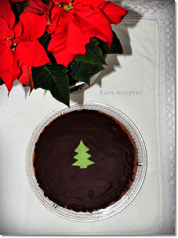 Gizi-receptjei.  Várok mindenkit.: Karácsonyi gesztenye torta.