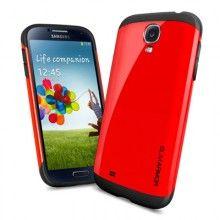 Forro Galaxy S4 Spigen SGP Case Slim Armor Series - Rojo Crimson  Bs.F. 142,89
