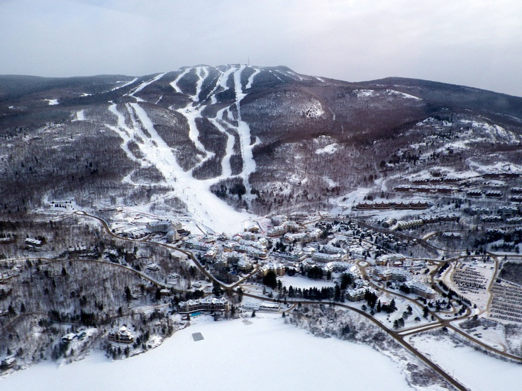 Mt. Tremblant resort, Laurentian Mountains, Quebec, Canada