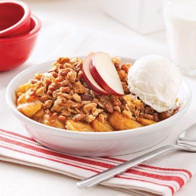 Croustade aux pommes traditionnelle - Recettes - Cuisine et nutrition - Pratico Pratiques - Dessert