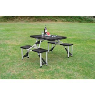 Buy Folding Camping Table And 4 Stools At Your Online Shop For