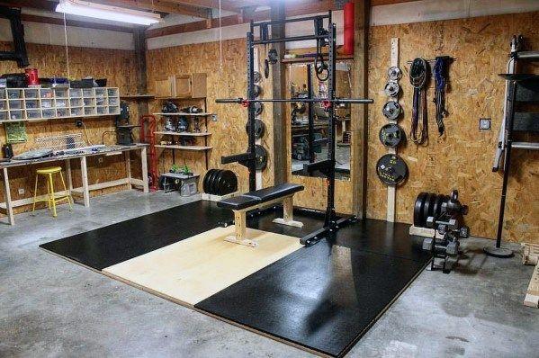 Top 75 Best Garage Gym Ideas Home Fitness Center Designs Gym Room At Home Home Gym Garage Home Gym Design