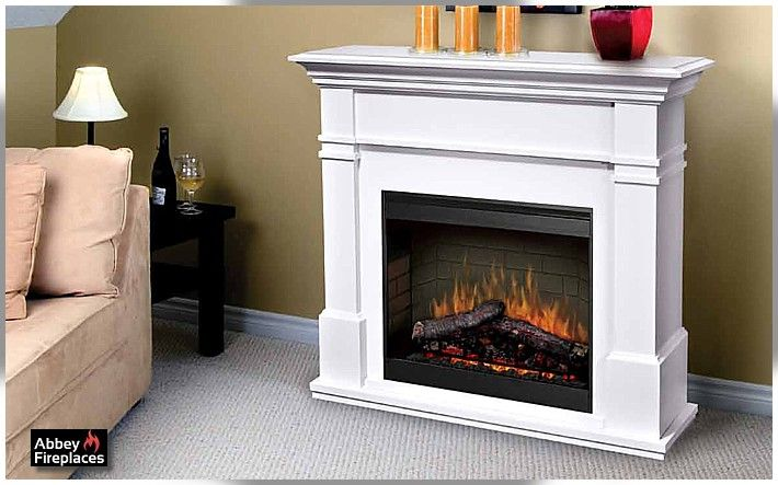 The Glen Dimplex Kenton electric flame fireplace by Abbey Fireplaces.