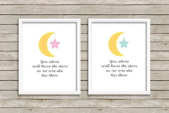 The Little Prince Quote  You Alone Will Have by SimplySweetPrints