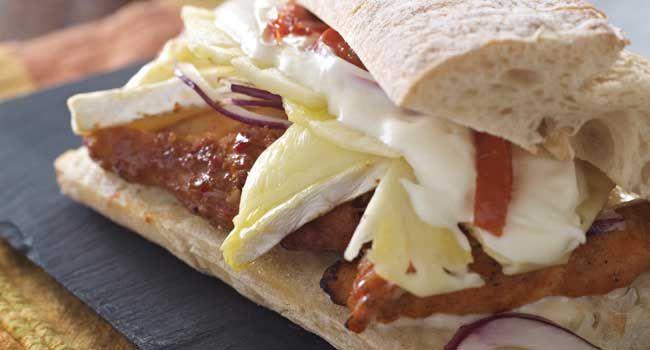Irelands Top Sandwich (Cellar Cajun Spiced Chicken Ciabatta) at Cellar Bar and Restaurant in Galway