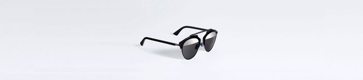 """Dior so real"" sunglasses in black - Accessories Dior - http://www.dior.com/couture/en_int/womens-fashion/accessories/eyewear/dior-so-real-sunglasses-in-black-17-8261"