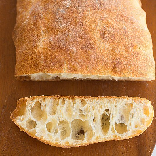 Homemade Ciabatta Bread - simpler than you could imagine!
