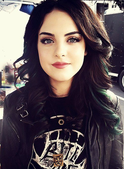 Elizabeth Gillies. Victorious. A fierce, talented, and intimidating lady. Fabulous.