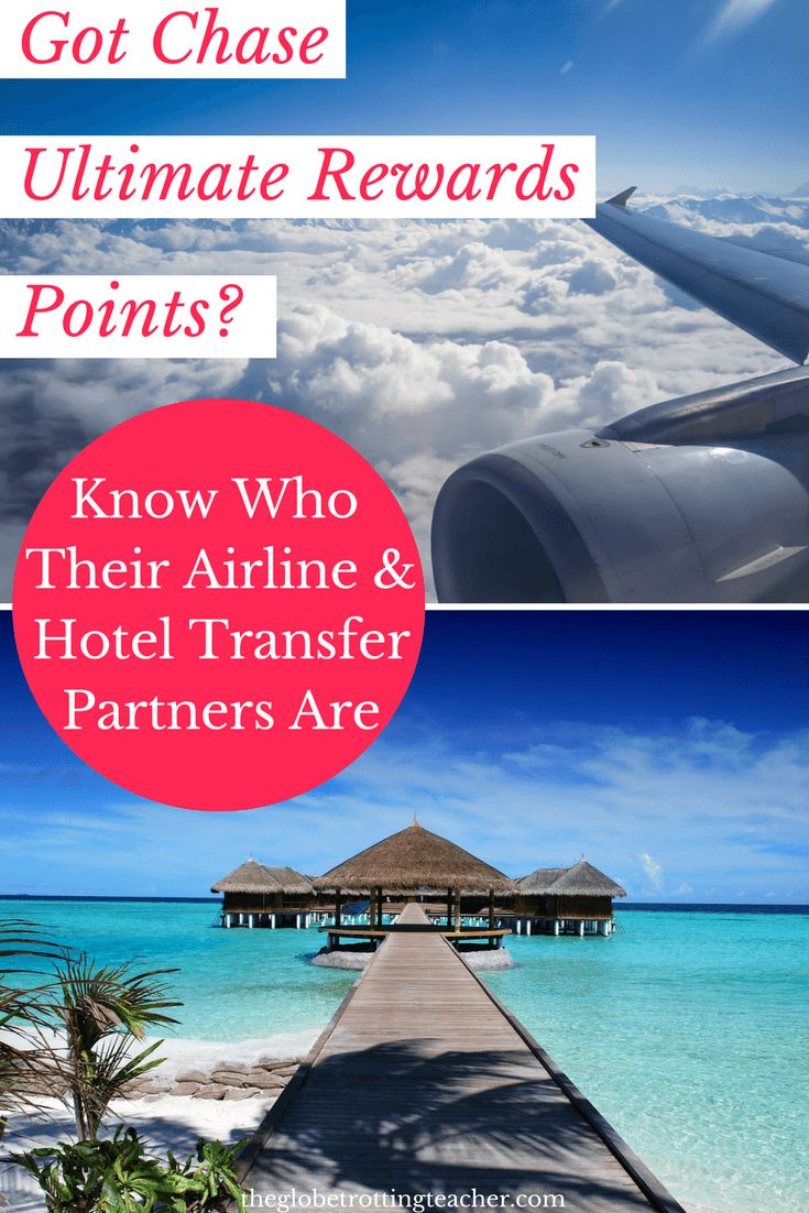 Are you earning Chase Ultimate Rewards points? You can use those points for FREE flights and hotels with their airline and hotel transfer partners. | Frequent Flyer Miles | Travel Rewards | Travel Credit Cards | Miles and Points