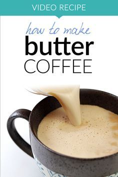 Easy and delicious! Butter coffee (or Bulletproof coffee) is a favorite among keto, low carb and paleo lovers. It combines with creaminess of butter and benefits of coconut oil into one energizing, smooth drink. Learn how easy it to make it with our quick video recipe! More recipes like this at www.tasteaholics.com