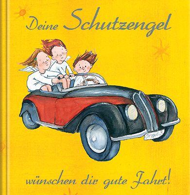 #Geschenkbuch: Deine #Schutzengel wünschen dir gute Fahrt!