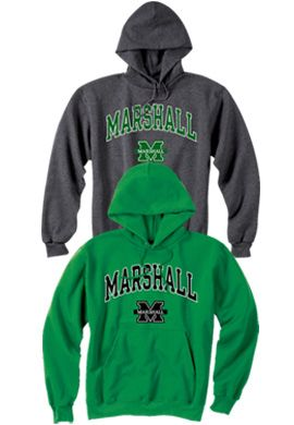 Product: Marshall University Hooded Sweatshirt