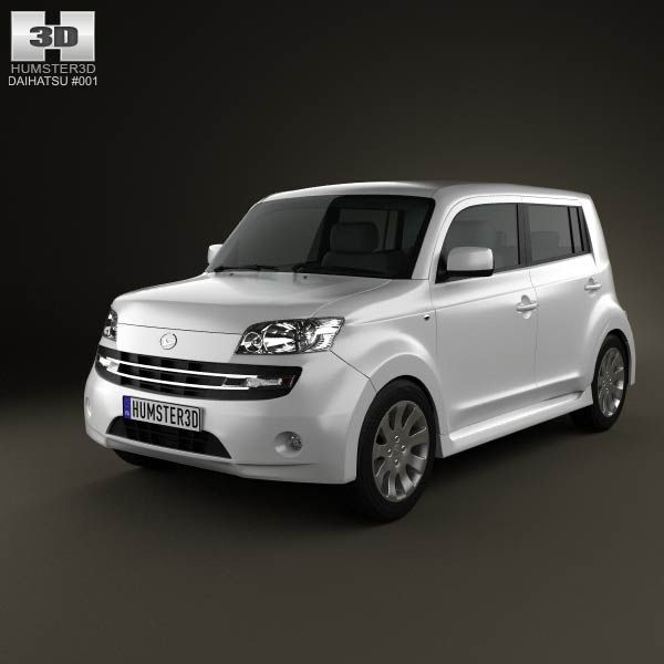 Daihatsu Materia 2010 3d model from humster3d.com. Price: $75