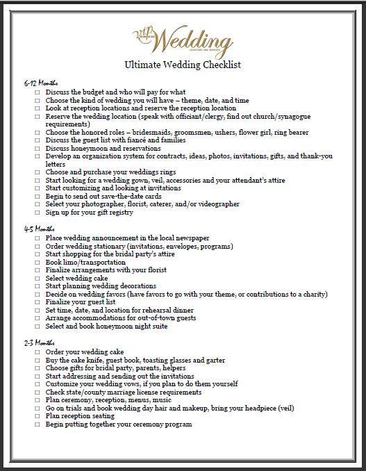 21 best Wedding Planning images on Pinterest
