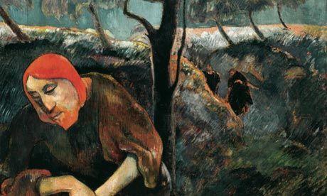 Paul Gauguin, L'AGONIA NEL GIARDINO, 1889, 73 cm x 92 cm, Colore ad olio, Norton Museum of Art