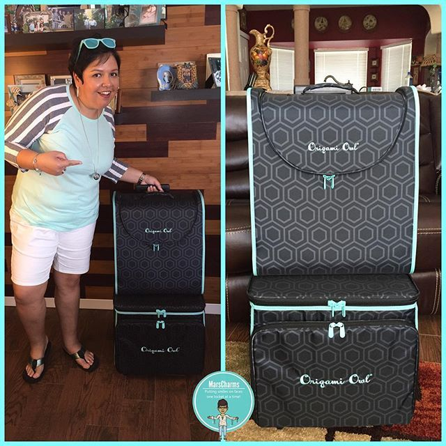 In 2017 Origamiowl Revealed This Rolling Tote Set At The