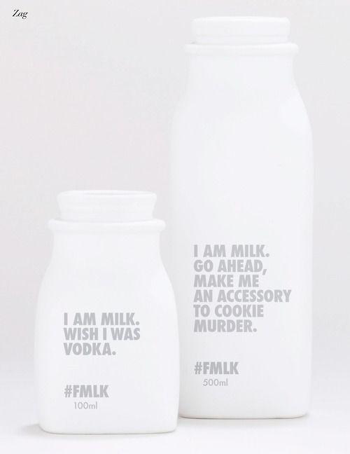 Milk. packaging