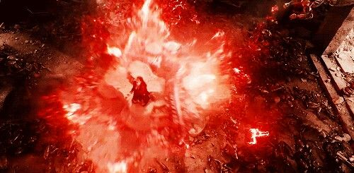 Scarlet Witch Freaking Out