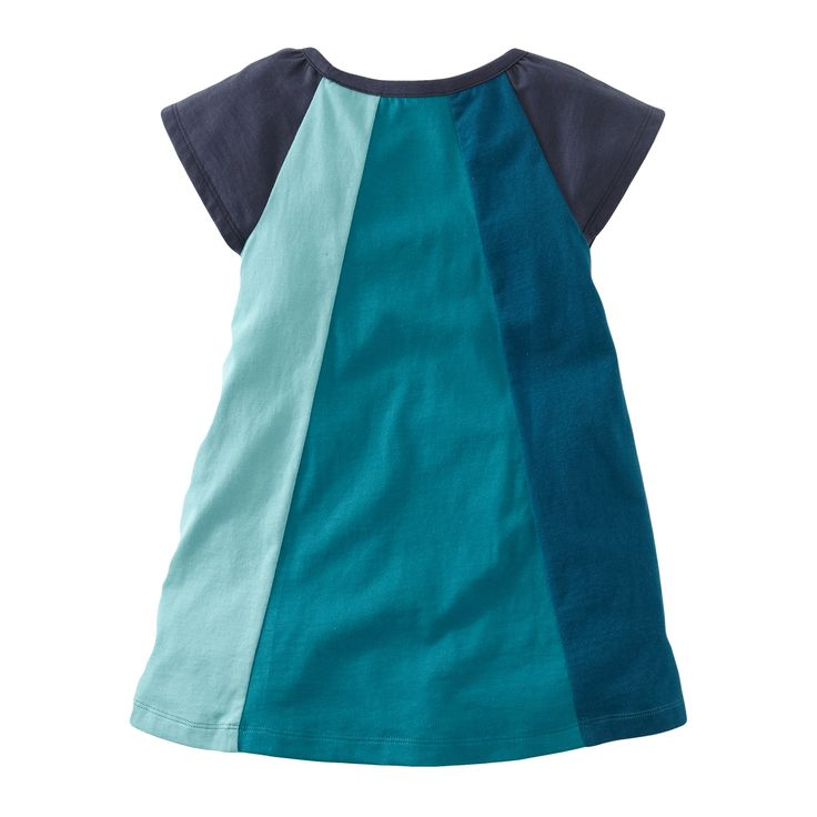 Inspiration: Mod Colorblock Dress by tea the back.