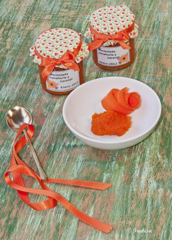 La cocina de Frabisa: Mermelada de zanahoria y naranja ¡una ricura!