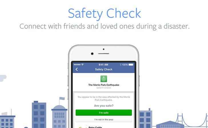 Facebook Safety Check Back in News