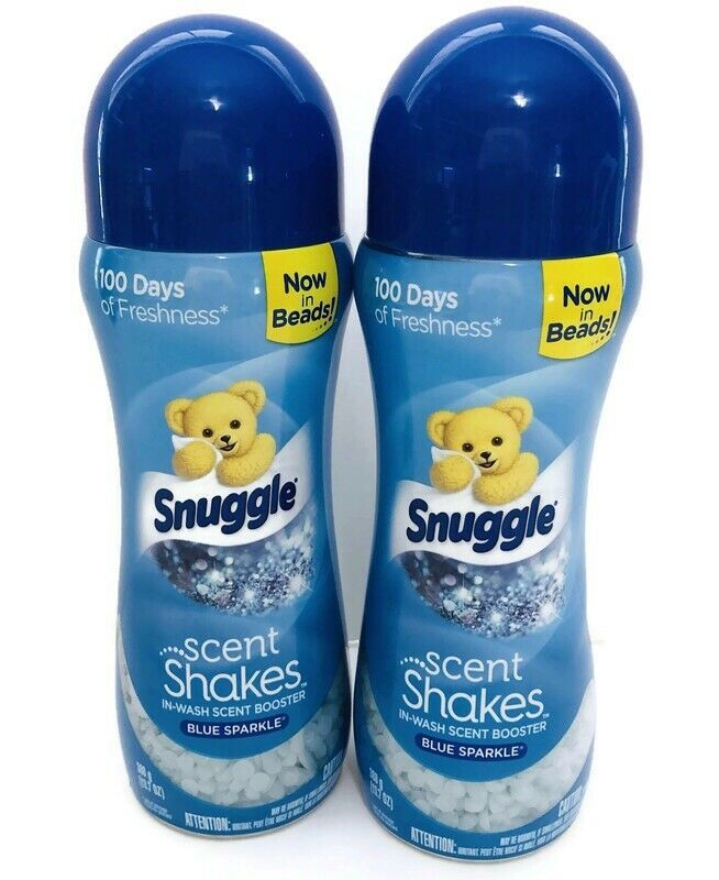 2x Snuggle Scent Shakes Blue Sparkle 13 7 Oz Lot Of 2 In Wash