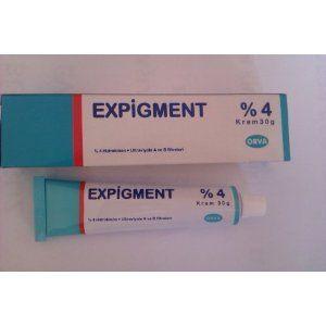 Expigment Krem ile Leke Tedavisi