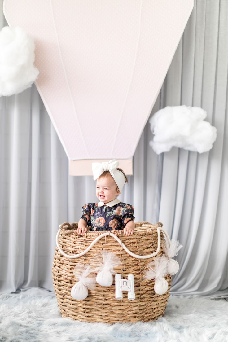Up Up and Away: Annie's First Birthday