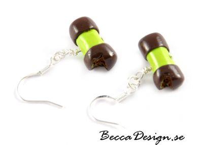 Dammsugare bakelse örhängen | Becca Design
