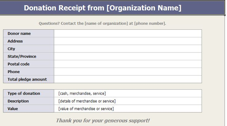 template and more charitable donations office home templates - sample donation request form