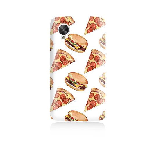 Pizza and Burgers is available for Nexus 5    Our cases precision-engineered to be the one of the lightest weight cases on the market. This Snap