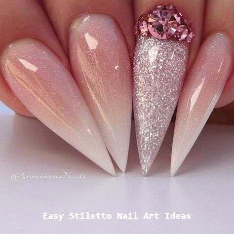 30 große Stiletto Nail Art Design-Ideen #nailart – Nägel