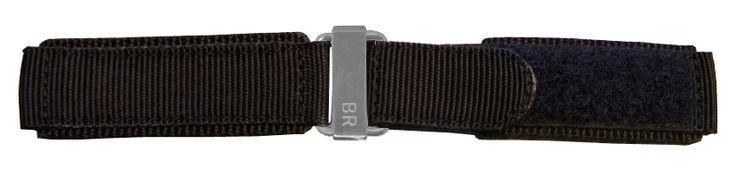 "Bell & Ross 24mm Black Canvas Strap 24-6-BLKC-SV: ""24-6-BLKC-SV NEW BELL & ROSS 24mm BLACK CANVAS STRAP IN… #Watches #Watch #LuxuryWatch"