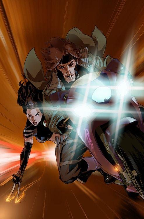 Gambit   X-23   ...X 23 Gambit