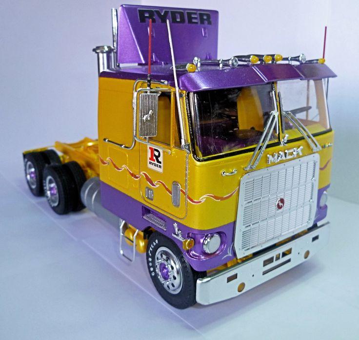 Mack Truck Model Kits : Mack cruise liner my truck model kits pinterest