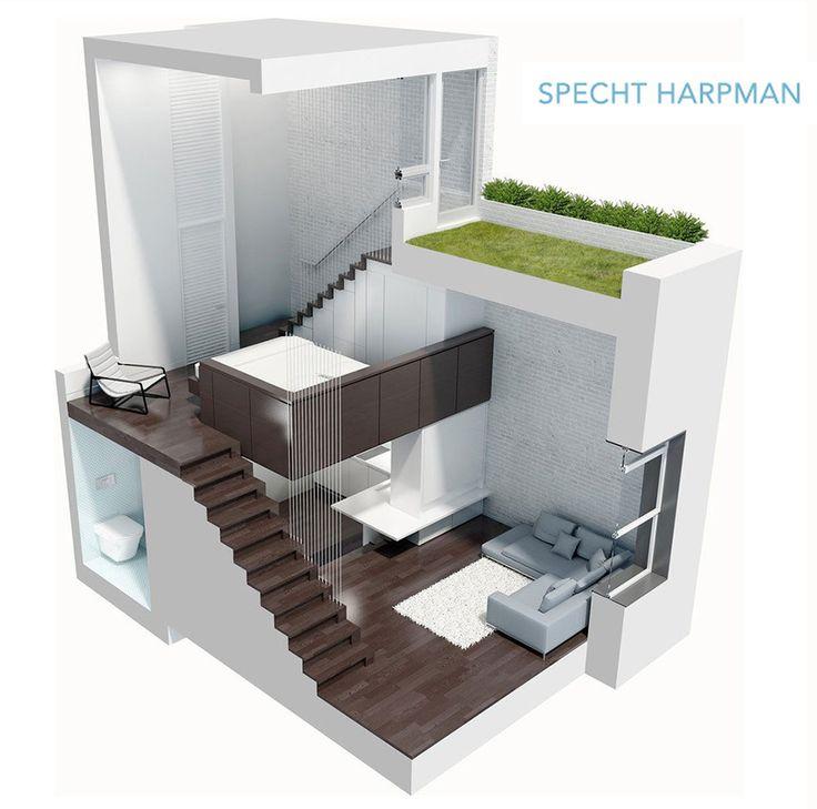 曼哈頓 12 坪微型 Loft 公寓 - DECOmyplace 新聞