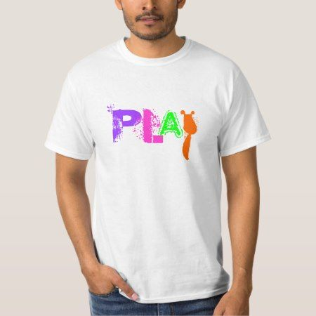PLAY, Pediatric Occupational Therapy (economy Tee) T-Shirt - tap to personalize and get yours