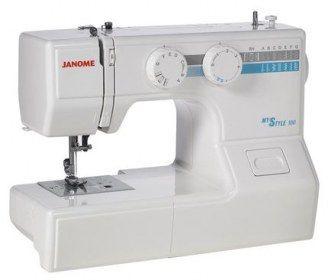 Macchina per cucire Janome My Style 100 - Dotata di un crochet rotativo orizzontale antibloccaggio.