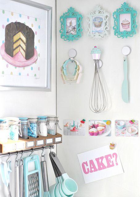 Baking corner! I love this :)