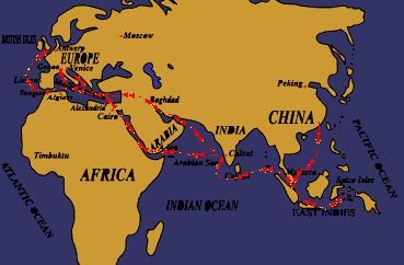 Ancient Spice Trade Route