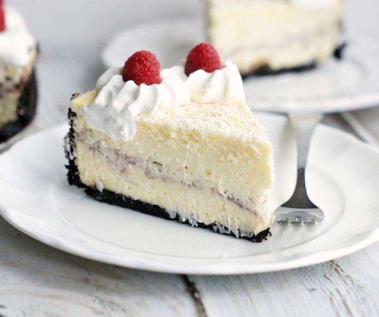 White Chocolate Raspberry Cheesecake {Cheescake Factory Copycat} - 5 Boys Baker