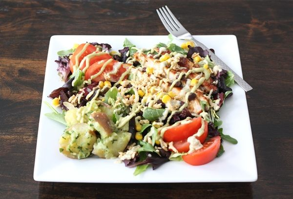 bbq chicken salad with blue cheese vinaigrette: Blue Cheese, Chicken Salads, Bbq Chicken Salad, Homemade Dresses, Drinks Recipes, Summer Salad, Dresses Recipes, Avocado Dresses, Chicken Salad Recipes