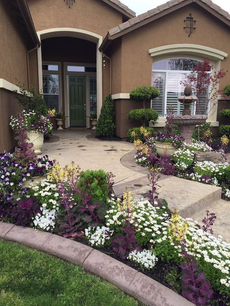 29 Simple Front Yard Landscaping Ideas On A Budget 2018