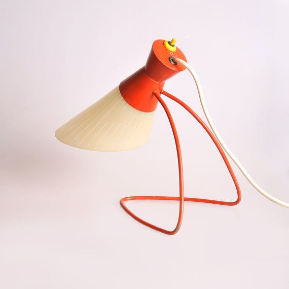 Modernist lamp Napako 1621 by Josef Hurka on Etsy, $425.53