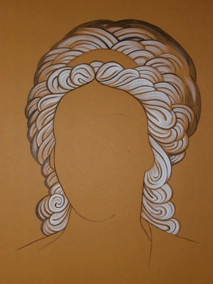 Hair highlight detail