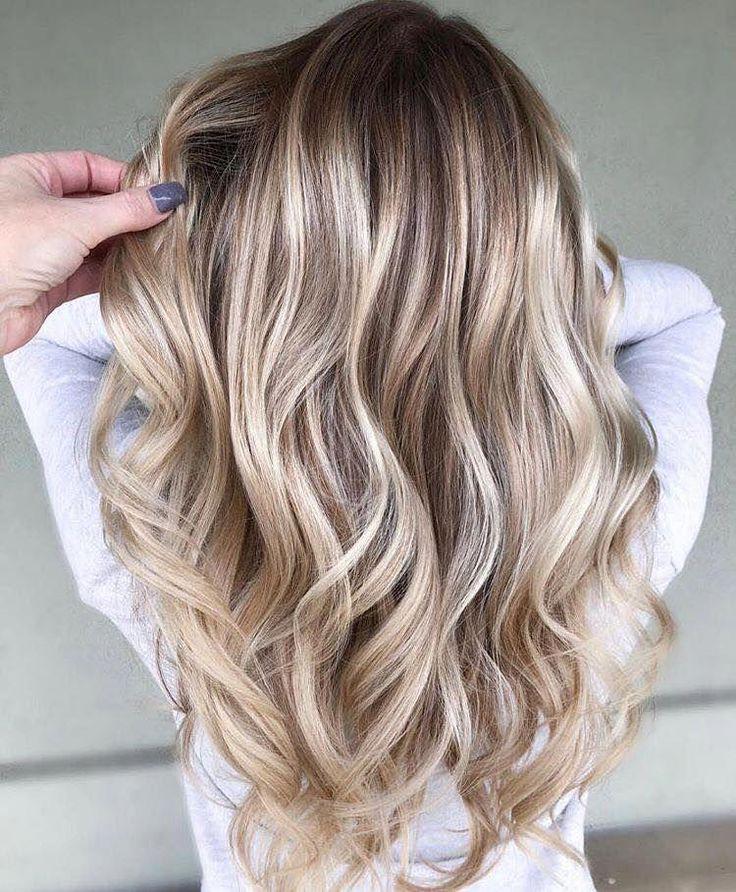 время модное окрашивание волос в светлые тона фото пуск