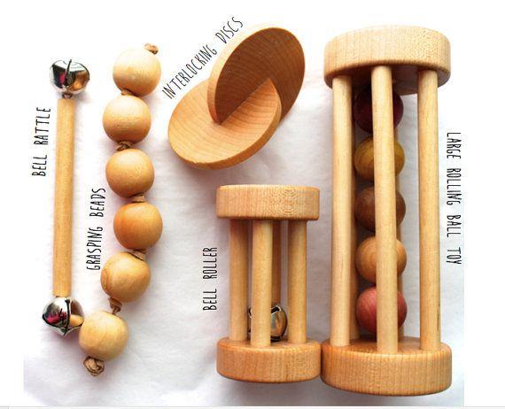 Montessori Baby Shower Gift Set - Five Pack